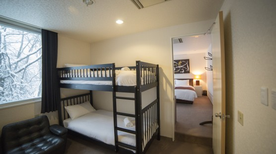 2ベッドルームファミリー 2段ベッド付き